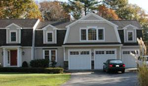 Home Office Garage Addition Hingham
