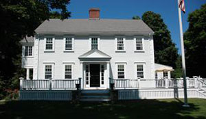 Historic Colonial Exterior Renovation Cohasset